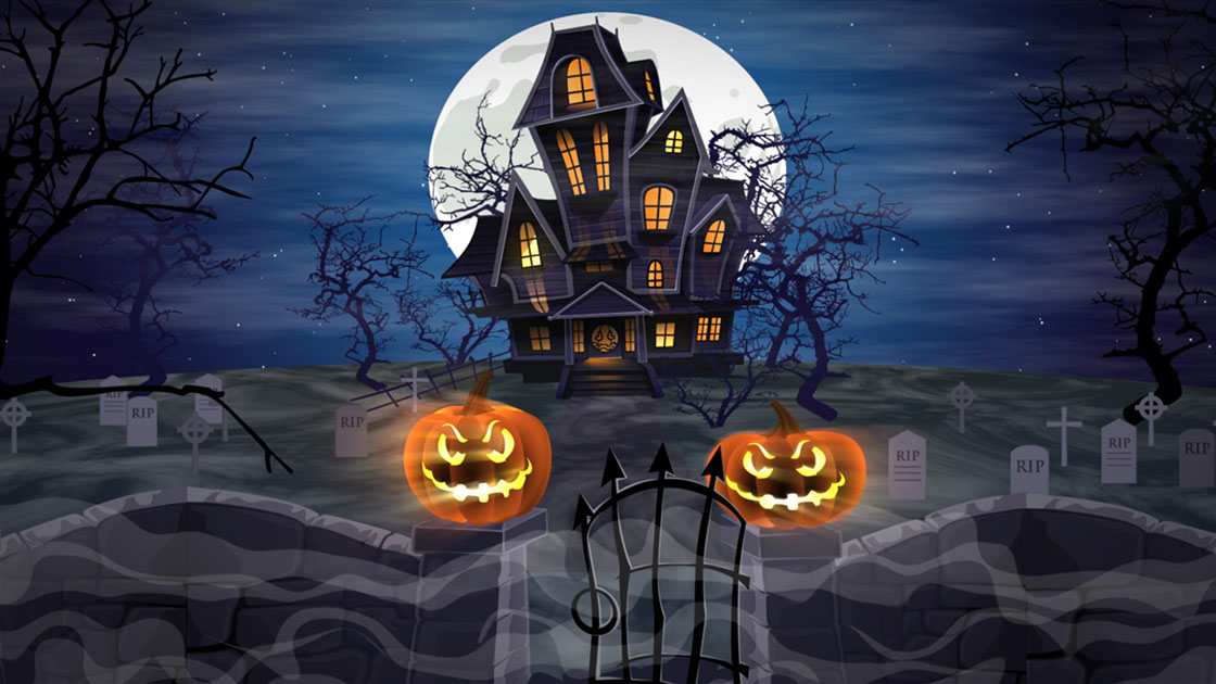 halloween themed visuals phil bearman creative media solutions